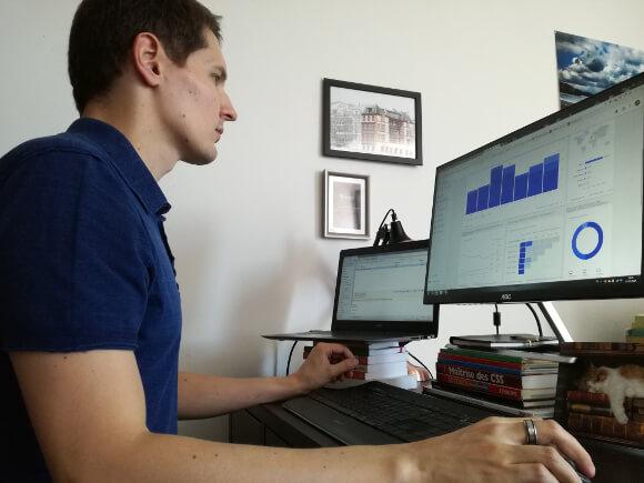Alexandre Poulet - Consultant SEO - Travail d'analyse