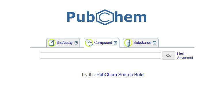 Moteur de recherche PubChem