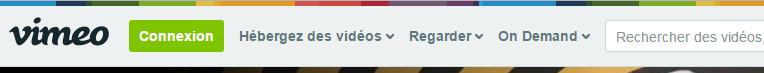 Le moteur de recherche Vimeo
