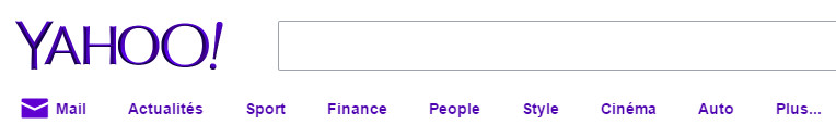 Le moteur de recherche Yahoo!