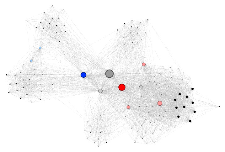 Maillage interne Gephi visualisation 3
