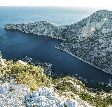 Les Calanques de Marseille en région PACA