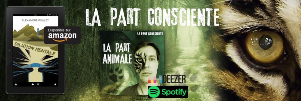 Les projets d'Alexandre Poulet : Dilution Mentale et La Part Consciente